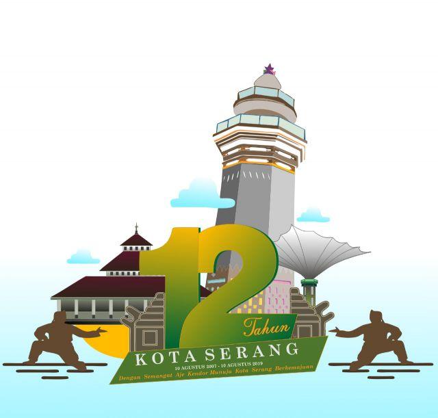 Logo HUT Kota Serang